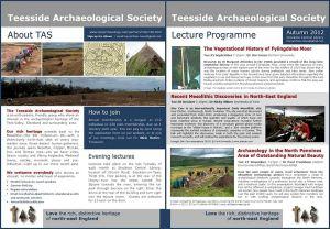TAS Programme Autumn 2012