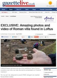 Loftus Roman Villa