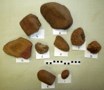 Selection of stones from Context 116