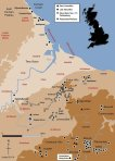 Teesside Mesolithic map