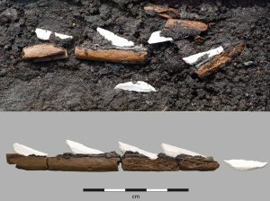 Early Mesolithic hafted arrow from Sweden