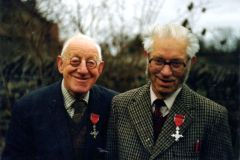R.H. Hayes (Left)